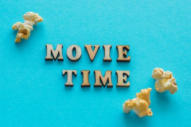 Temps de film de texte