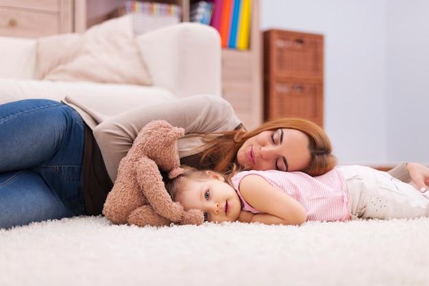 Temps pour une courte sieste pendant la journée