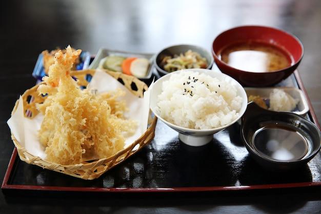 Tempura crevettes frites à la japonaise
