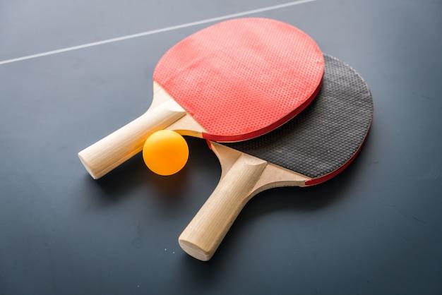 Tennis de table ou ping-pong
