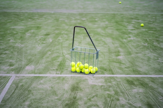 Tennisattributes, balles
