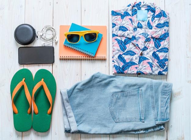 Tenue décontractée pour homme, vacances d'été