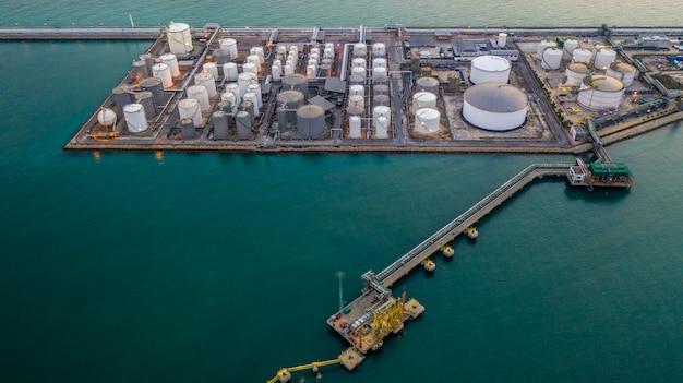 Terminal de produits chimiques liquides, réservoir de stockage de produits chimiques et pétrochimiques liquides