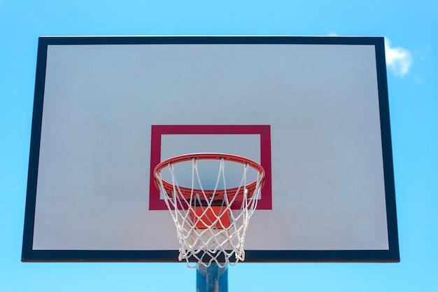 Terrain de basket dans le parc de la nouvelle ville de taipei