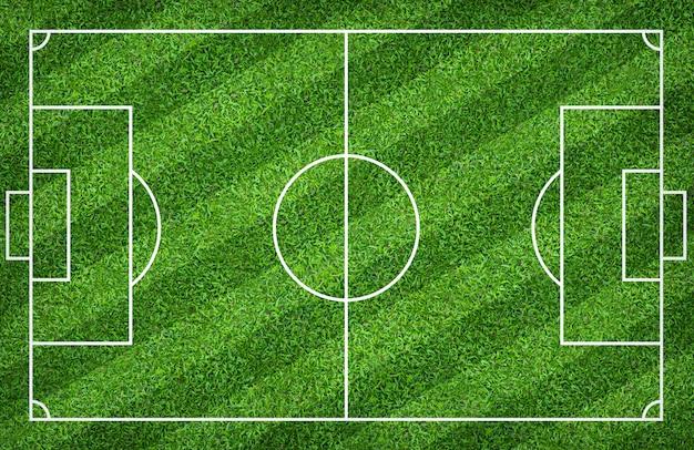 Terrain de foot ou terrain de foot pour le fond. avec motif de cour vert.