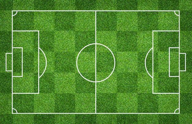 Terrain de foot ou terrain de foot pour le fond