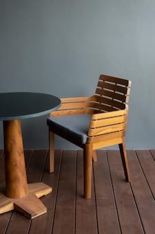Terrasse et chaise de patio