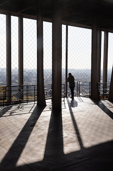 Terrasse d'observation de la tour eiffel