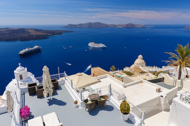 Terrasses et patios de luxe fira