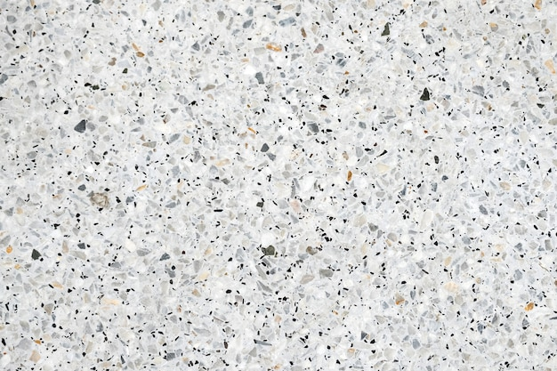 Terrazzo a poli la texture de fond de sol et mur en pierre.