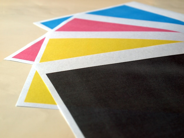 Test d'impression couleur