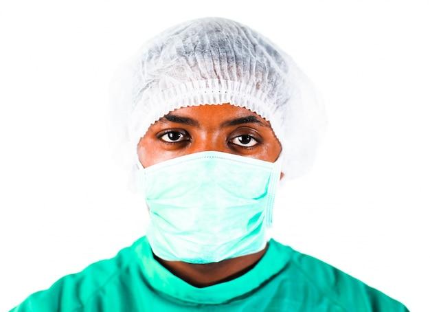 Tête d'un chirurgien