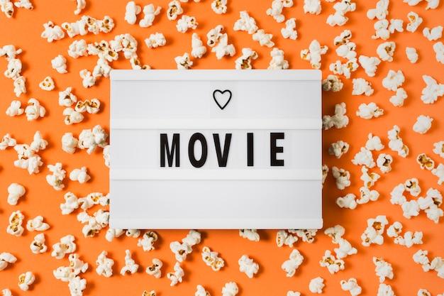 Texte du film sur lightbox