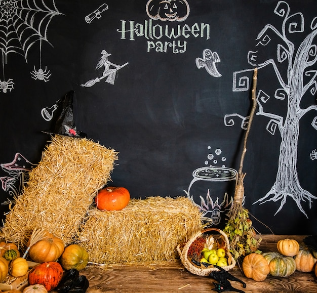 Texte et images pour la célébration d'halloween