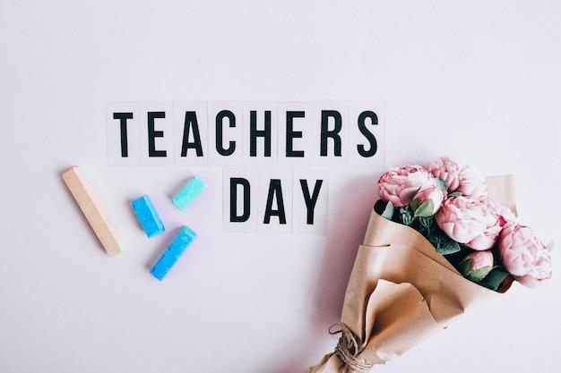 Texte journée des enseignants