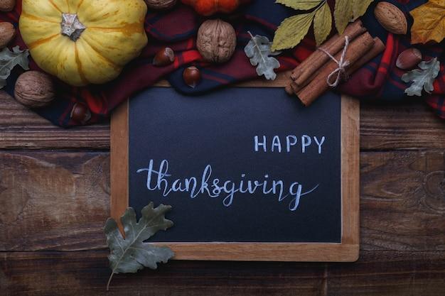 Texte de joyeux thanksgiving