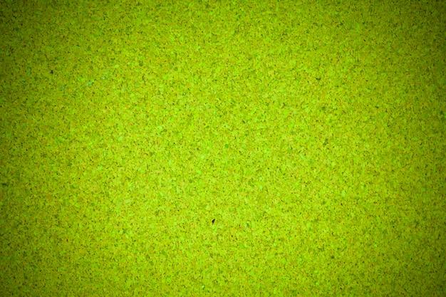 Texte de liège fond de texture de liège en bois vert.
