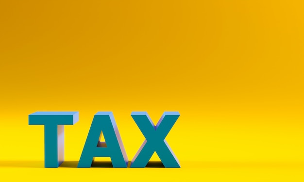 Texte des taxes sur le jaune.