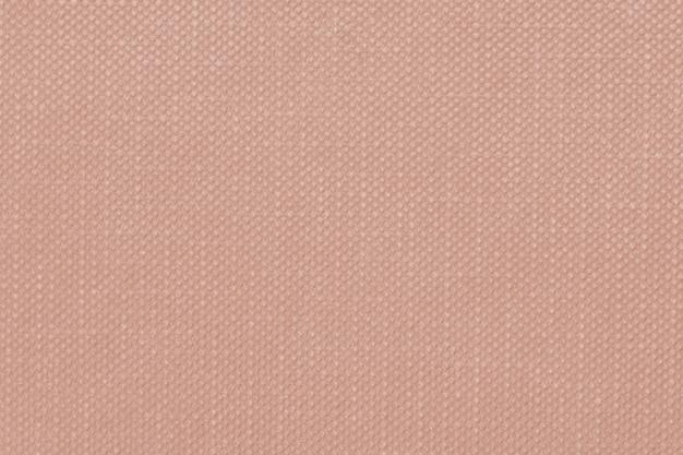 Textile gaufré brun rougeâtre texturé