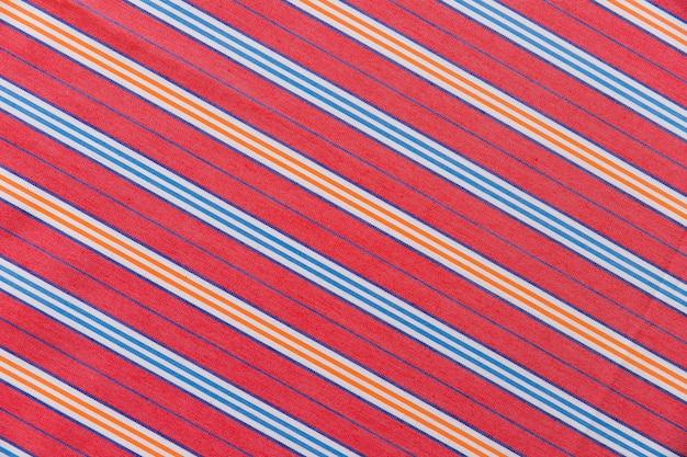Textile de motif abstrait lignes droites colorées