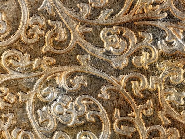 Texture abstraite de cuir synthétique