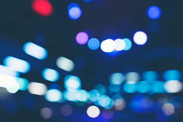 Texture abstraite du bâtiment de nuit