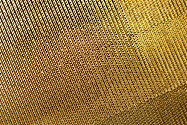 Texture abstraite fond de papier ondulé d'or.