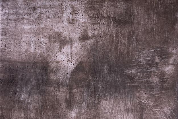 Texture abstraite grunge marron foncé avec des rayures