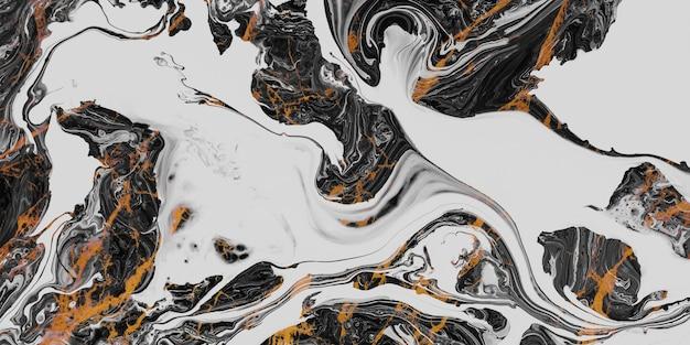 Texture abstraite de marbre blanc et noir pour la conception décorative de plancher de fond ou de tuiles