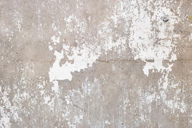 Texture abstraite de mur de ciment blanc et gris, fond de béton