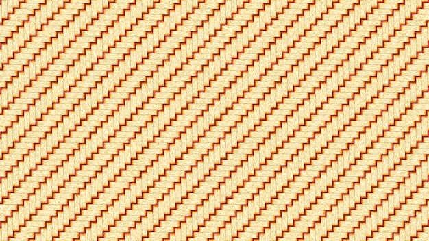 Texture abstraite tisserands ton coucher de soleil texture bambou quatre morceaux, fond de couleur bambou sec