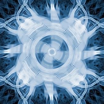 Texture abstraite turbine