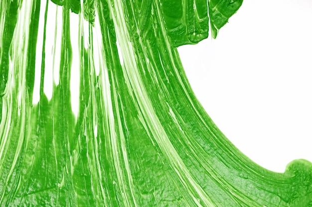 Texture acrylique verte abstraite