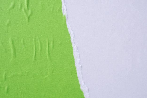 Texture d'affiche de papier froissé déchiré déchiré grunge