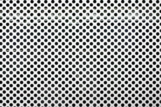 Texture en aluminium et pochoir