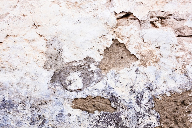 Texture de l'ancien mur délabré. mur clair.