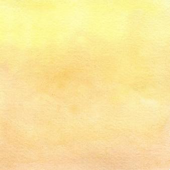 Texture aquarelle jaune illustration dessinée à la main
