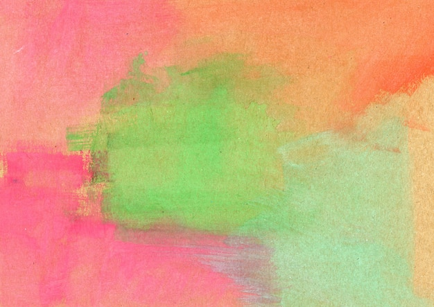 Texture aquarelle multicolore