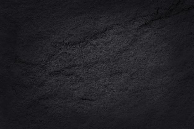 Texture ardoise noire gris foncé, fond de mur en pierre noire naturelle.