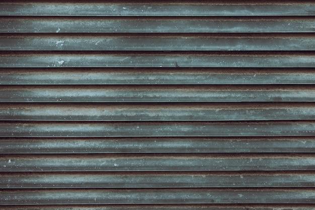 Texture et arrière-plan de l'obturateur en métal ancien