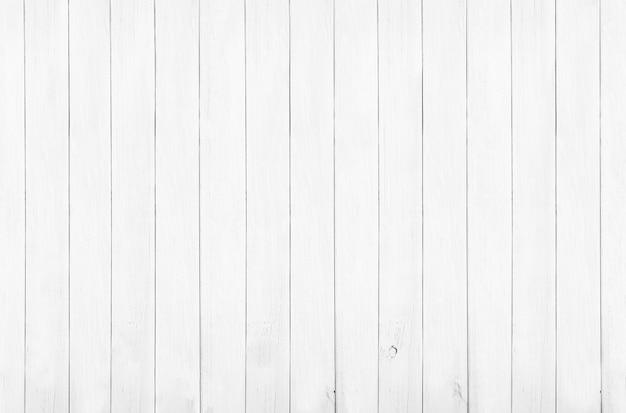 Texture et arrière-plan de plancher de bois blanc