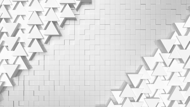 Texture d'arrière-plan triangle blanc avec espace copie pour votre texte