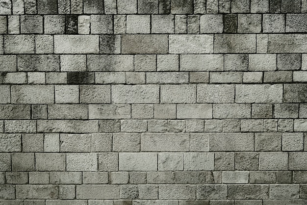 Texture d'arrière-plan vieux mur de pierre grise