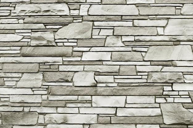 Texture d'arrière-plan vieux mur de pierre mosaïque