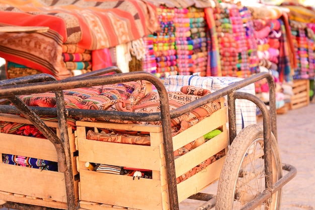 Texture artisanale de salta, en argentine.