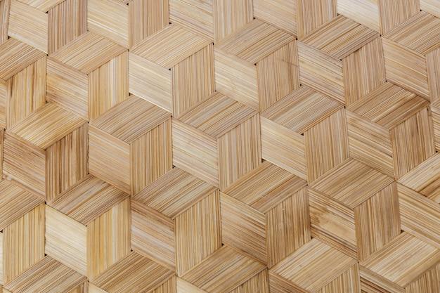 Texture de bambou tissé