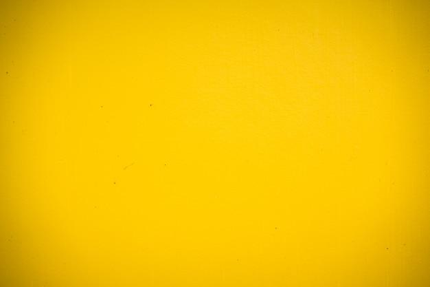 Texture de béton jaune abstraite