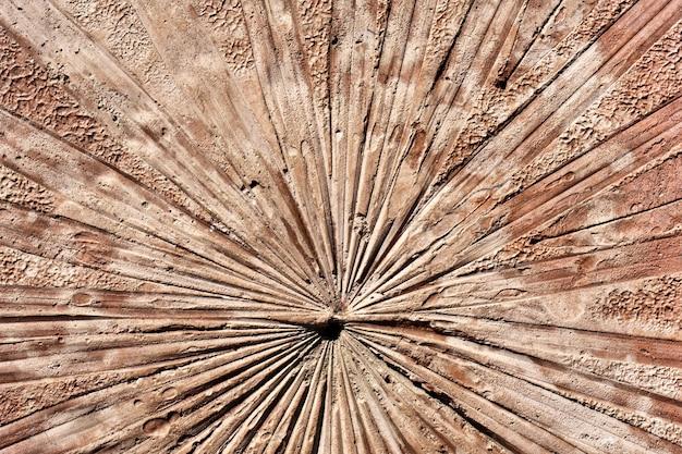 Texture de béton de surface décorative sur le mur