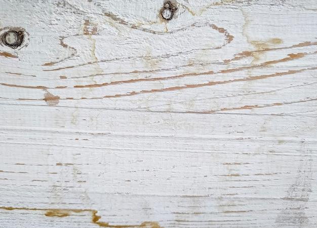 Texture blanche de planche de bois patinée. fermer