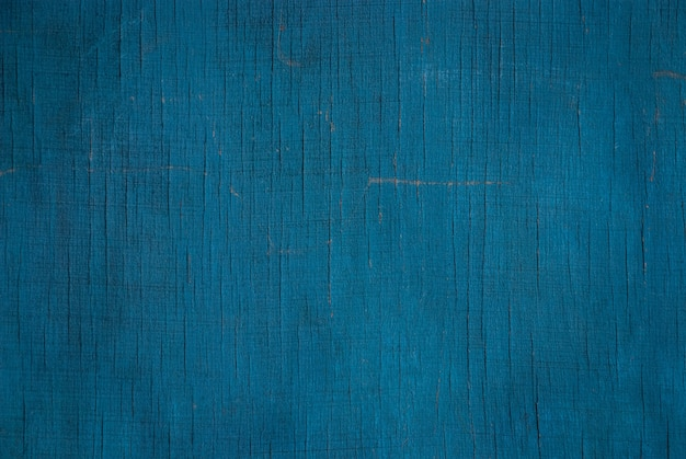 Texture bleu sarcelle du vieux mur de contreplaqué
